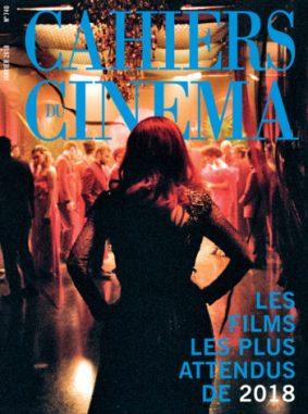 Couv-740 JANV 18 CAHIER DU CINEMA