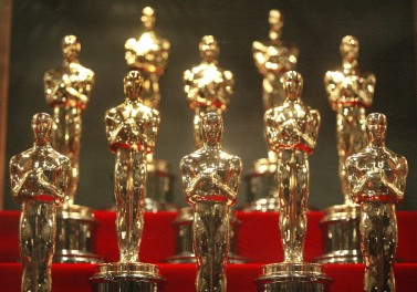 Oscar¨ Statuettes On Display At Chicago Museum Of Science & Industry