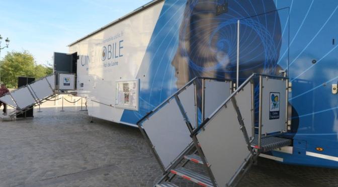 La région «Centre-Val de Loire» inaugure son septième Cinémobile