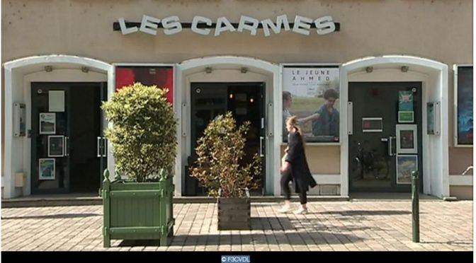 Dans les coulisses du cinéma Les Carmes à Orléans : un reportage en 4 épisodes de France 3 Centre Val de Loire