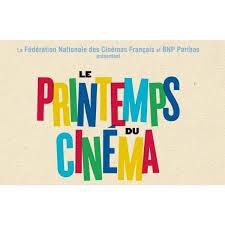 Retenez les dates : Printemps et Fête du Cinéma 2020