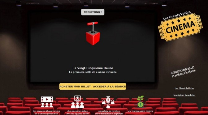 «Les Grands Voisins, la citée rêvée»  avant première en e-cinéma