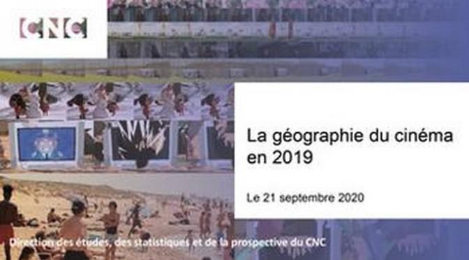 La «géographie du Cinéma 2019» par le C.N.C