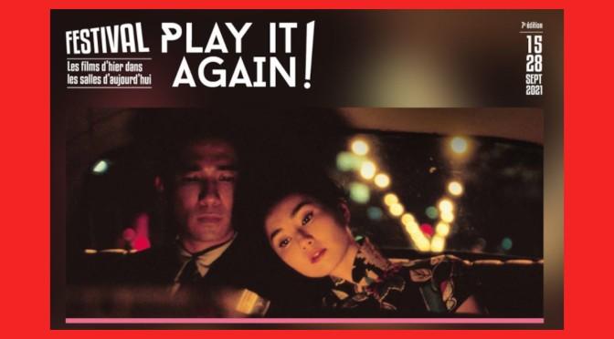 Festival Play It Again – 15 au 28/09    partout en France